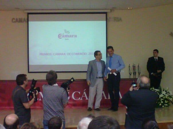 Premio a la mejor Empresa Exportadora de la Cámara de Comercio de 2012